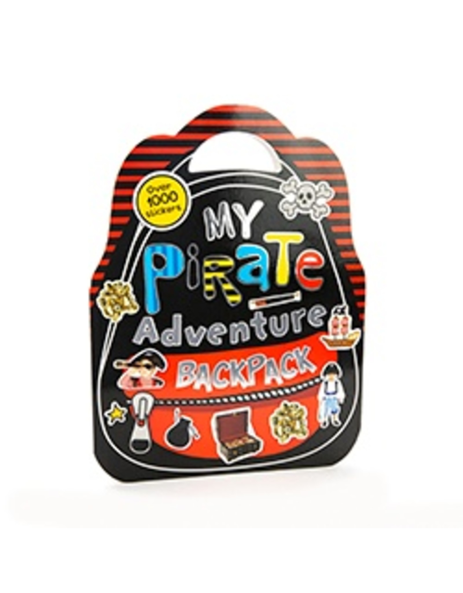 My Pirate Adventure Backpack - Activity Book