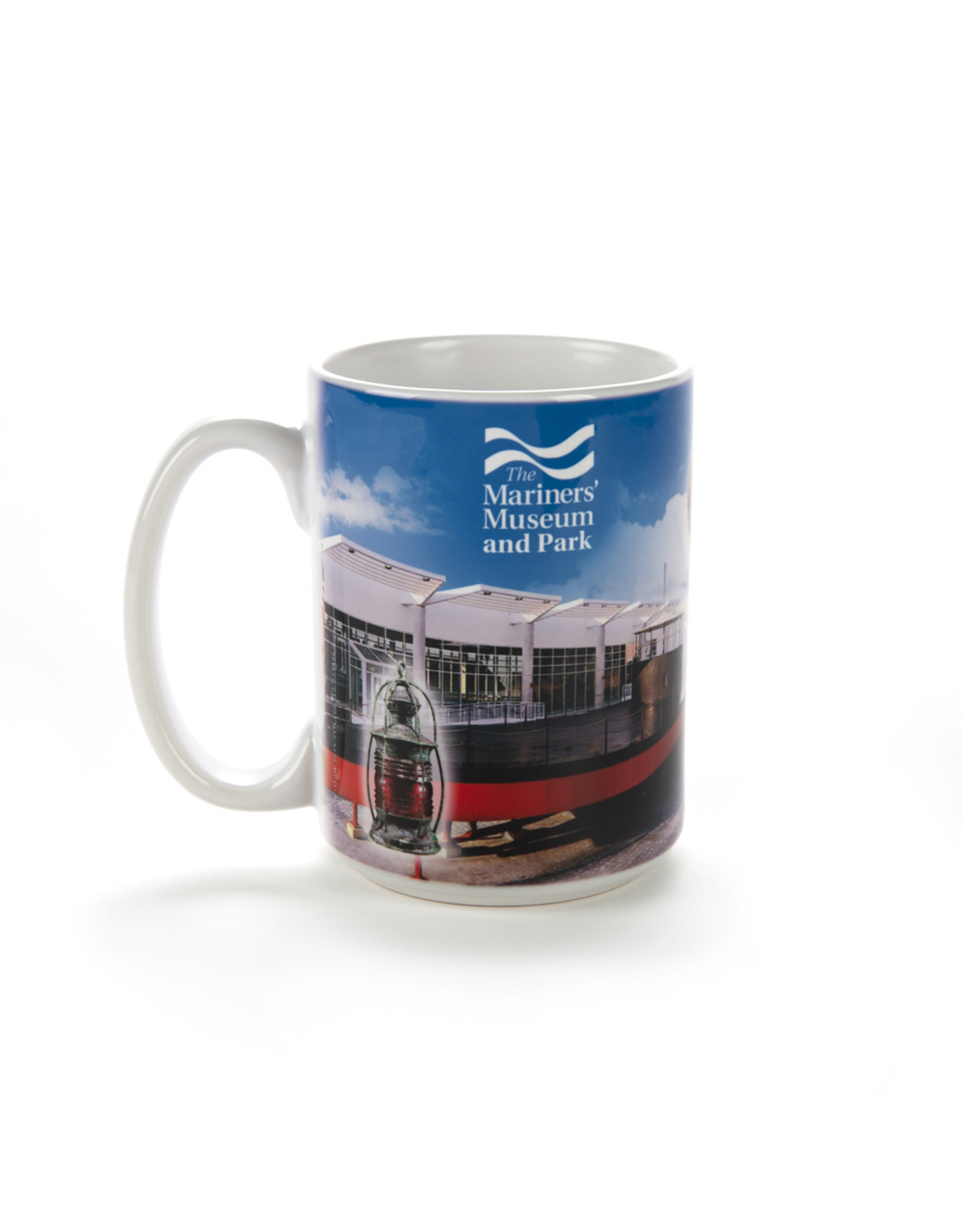 The Mariners' Museum and Park Collage  Coffee Mug