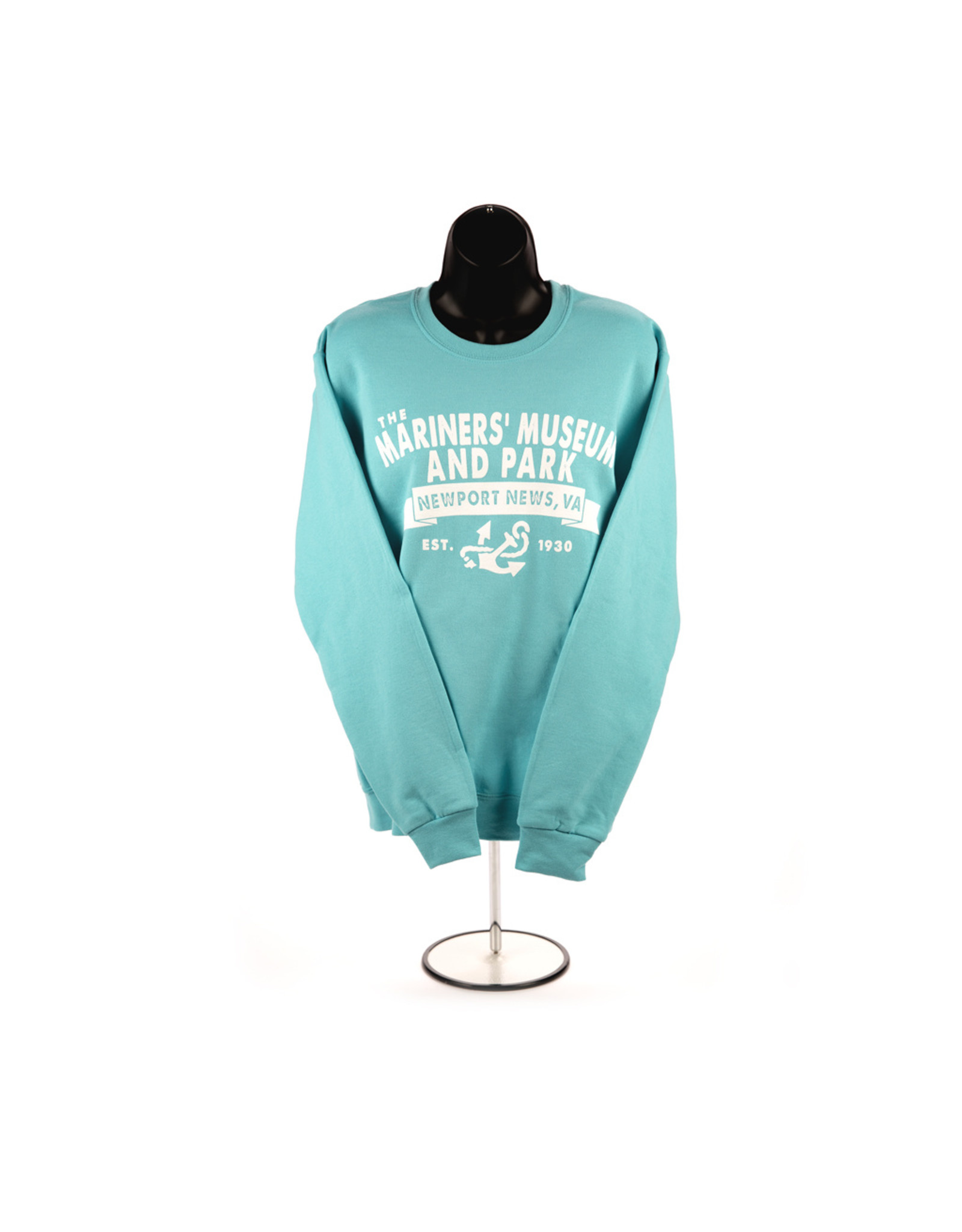 The Mariners' Museum and Park Banner Crewneck Sweatshirt