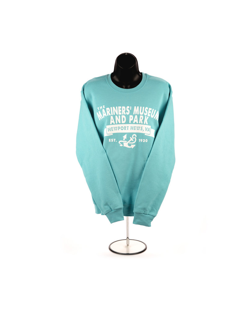 The Mariners' Museum and Park Banner Crewneck Sweatshirt