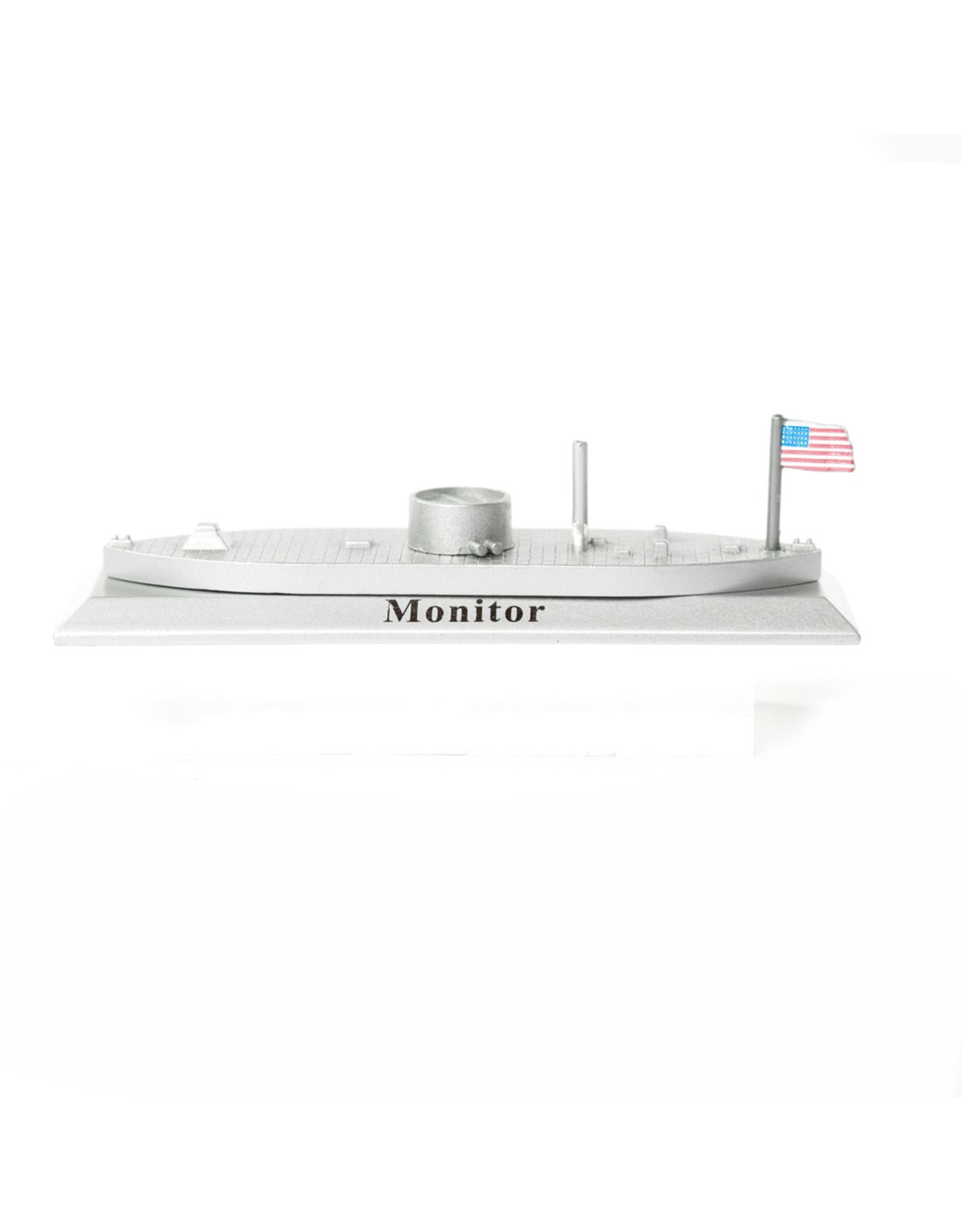 Monitor Metal Figurine