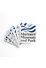 The Mariners' Museum and Park Logo Sticker