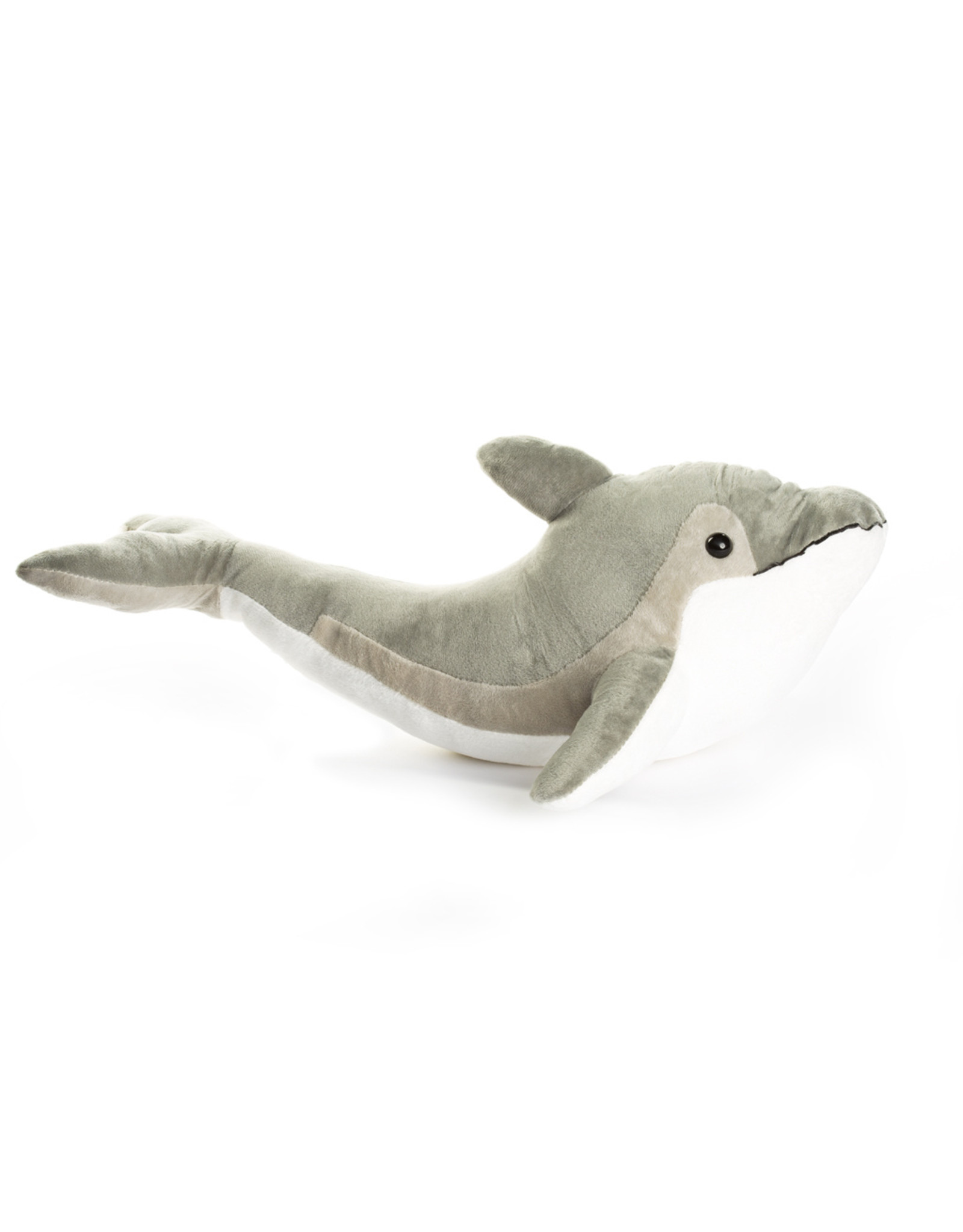 Gray Dolphin Plush 16""