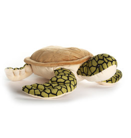 Realistic Sea Turtle Plush - 18.5""