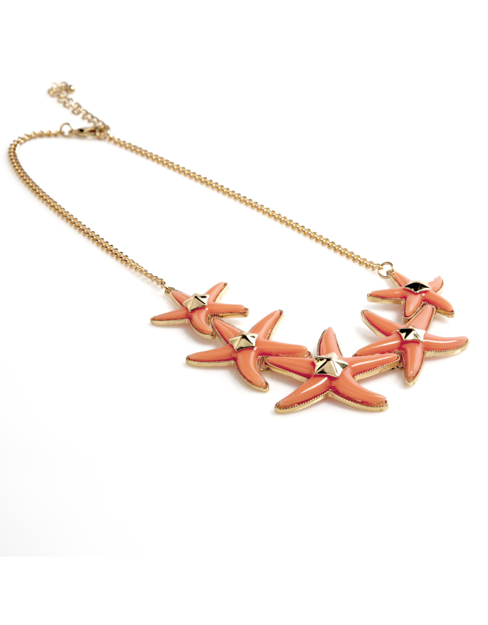 Colorful Starfish Necklace