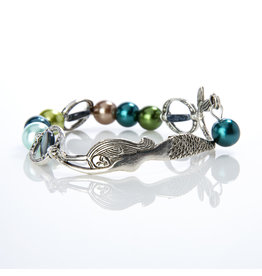 Colorful Mermaid Found Bracelet