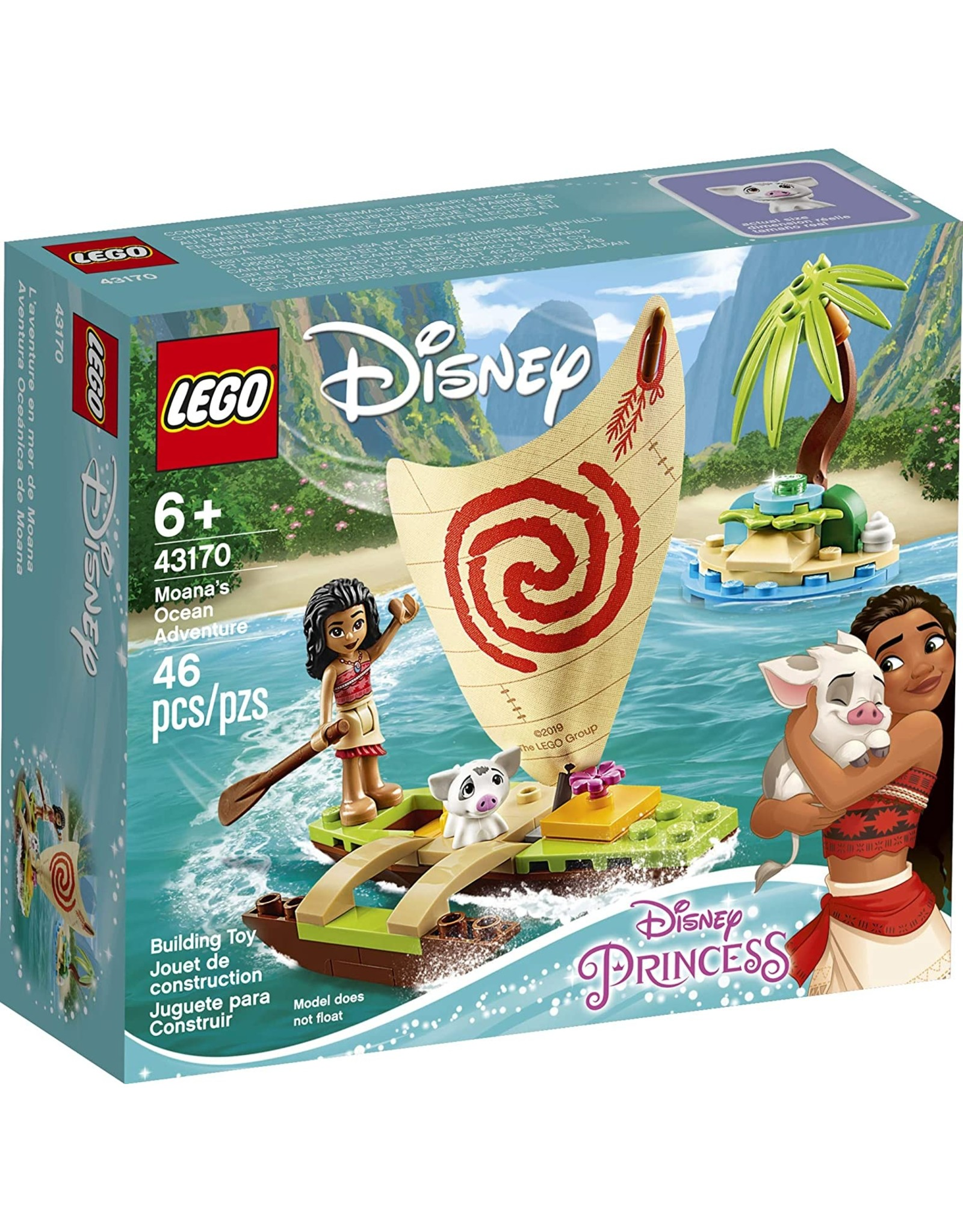 LEGO Disney Princess Moana's Ocean Adventure