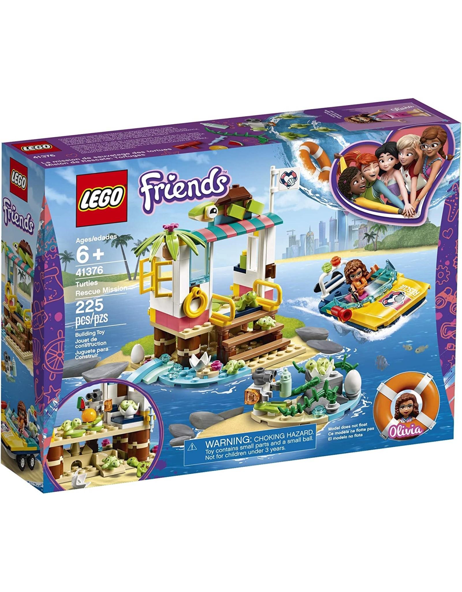 LEGO Friends Turtle Rescue Mission