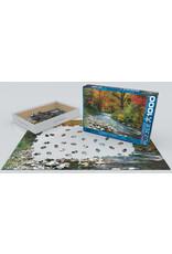 1000 Piece Forest Stream Puzzle