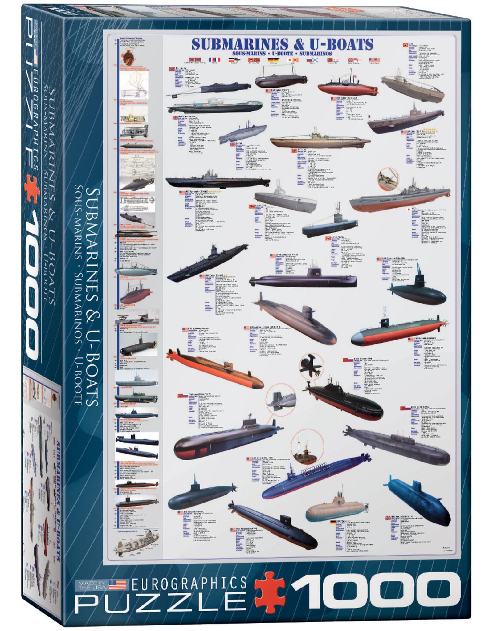 Submarines & U-Boats Puzzle