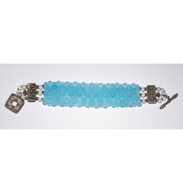 Aqua Quartz Bracelet