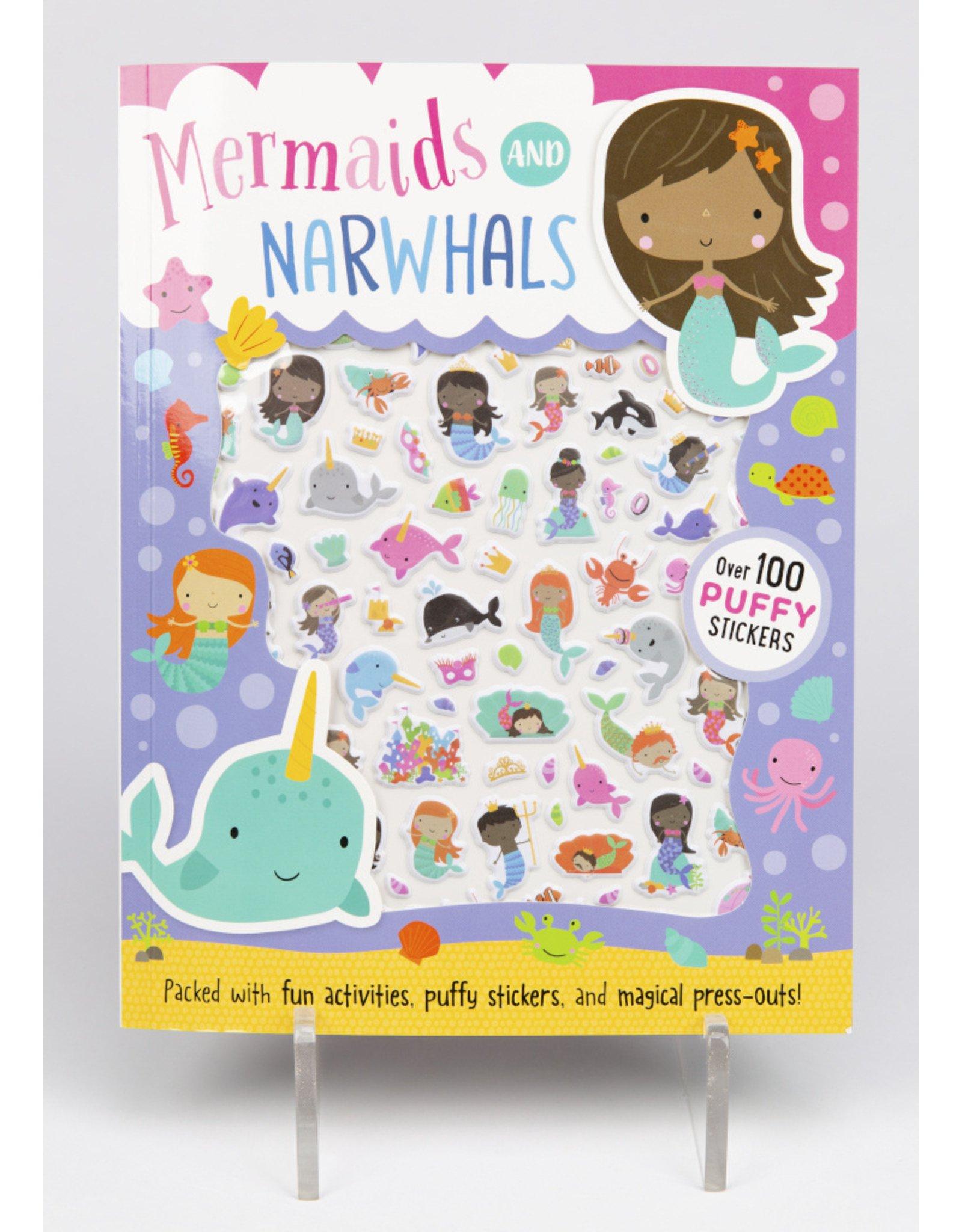Mermaids & Narwhals Puffy Sticker Book