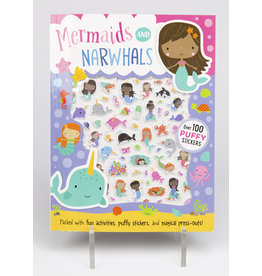 Mermaids & Narwhals Puffy Sticker Book