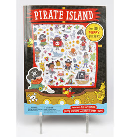 Pirate Island Puffy Sticker Pack