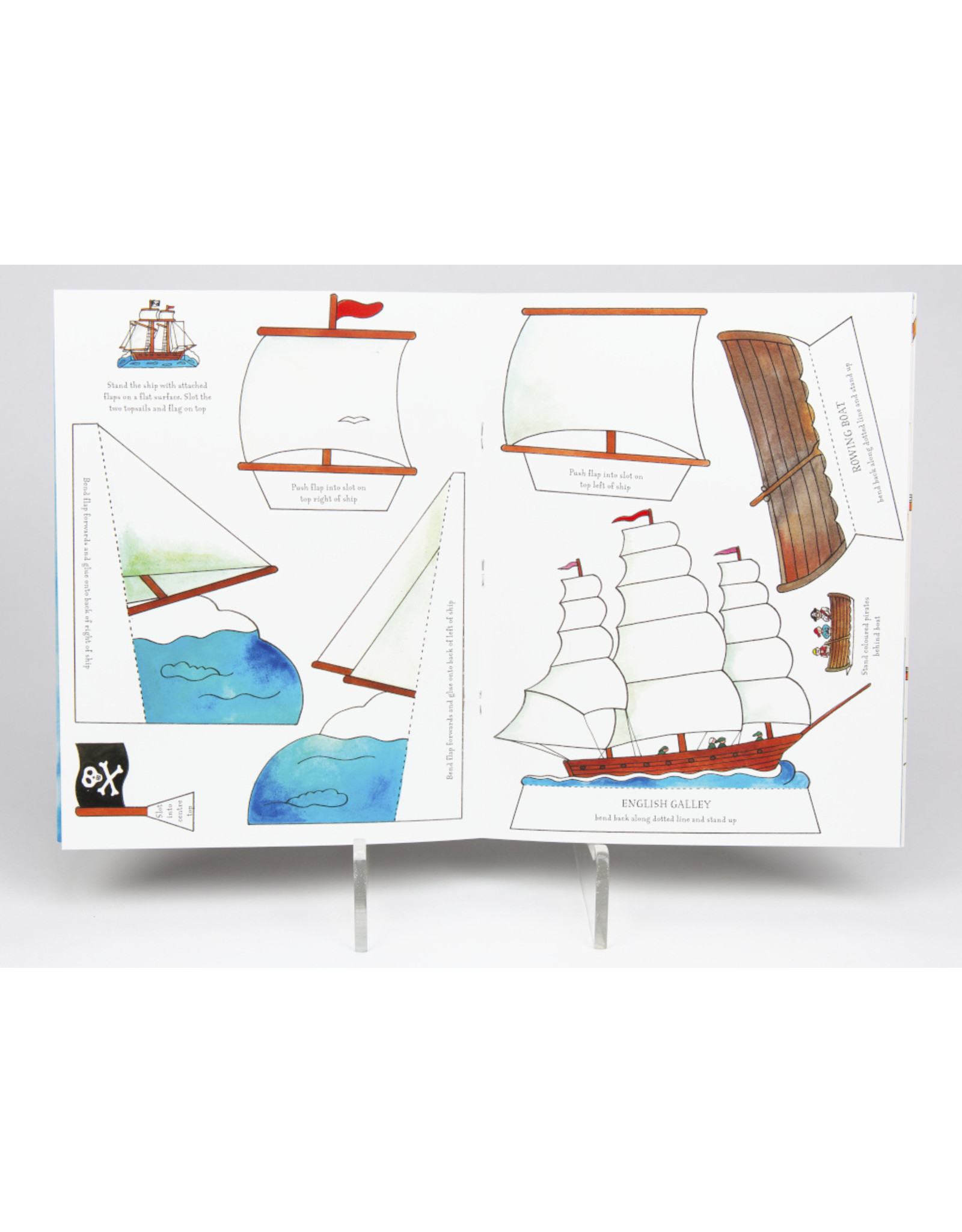 Make Your Own Pirate Ship Activity Book
