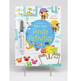 Wipe Clean Pirate Activities Book