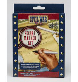 Civil War Secret Marker Kit