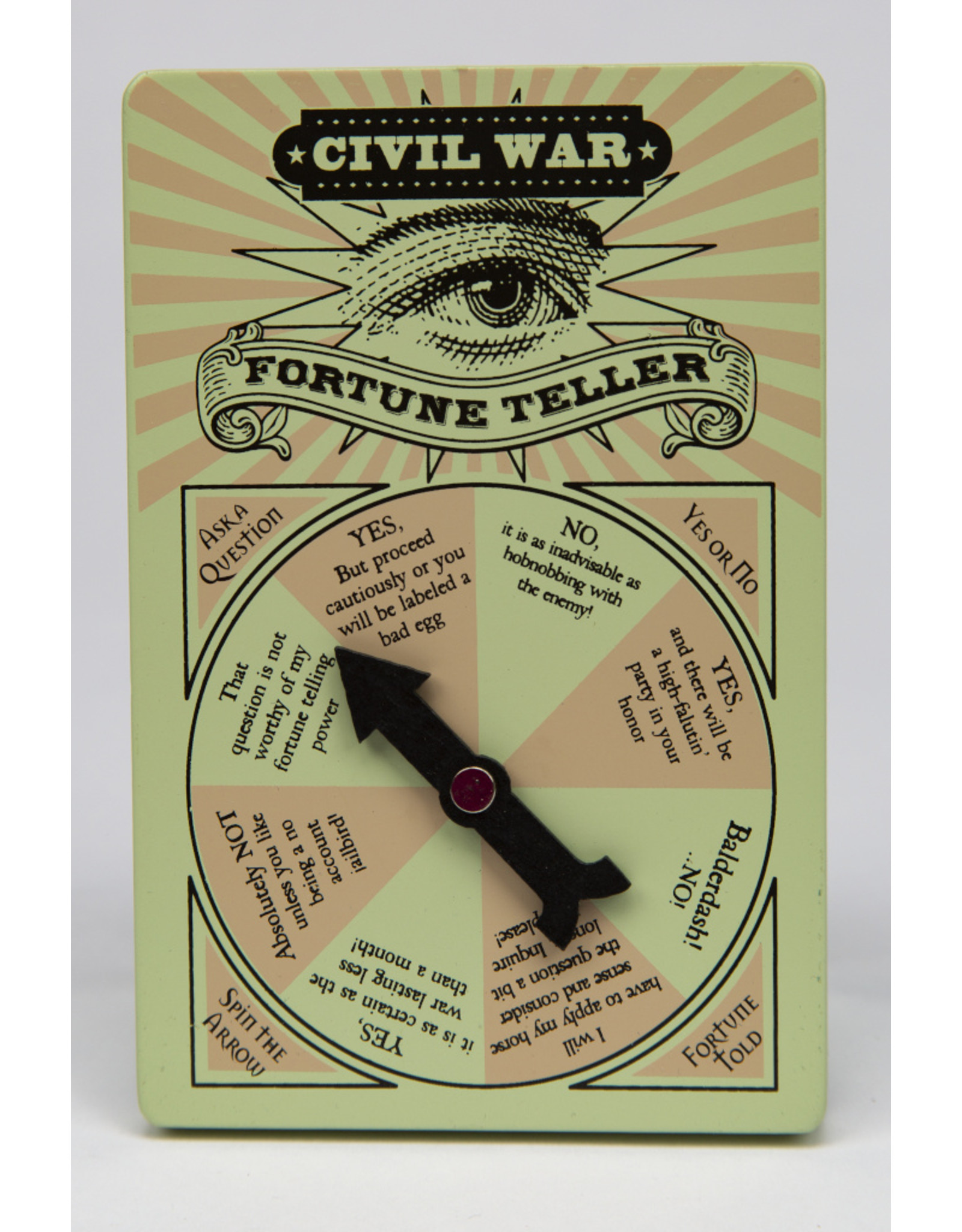 Civil War Wooden  Fortune Teller