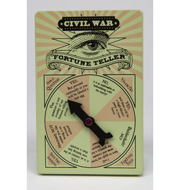 Civil War Wooden  Fortune Teller