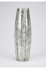 LED Large Glass Cylinder Birch Branches