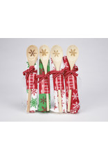 Winter Towel & Wooden Spoon Giftset