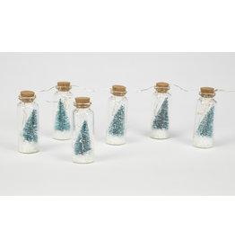 Winter Tree Scene String Lights