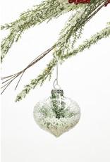Pine Glass Clough Ornament Assorted