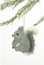 Forest Animal Bristle Ornament Assorted