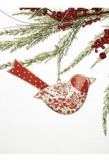 Metal Bird Ornament Assorted
