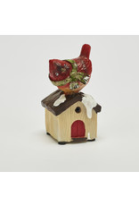 Miniature Motion Activated Cardinal w/Sound