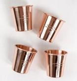 Copper Shot Glass Set