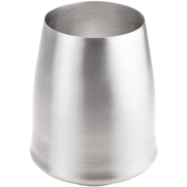 GSI GLACIER STAINLESS STEMLESS WINE GLASS