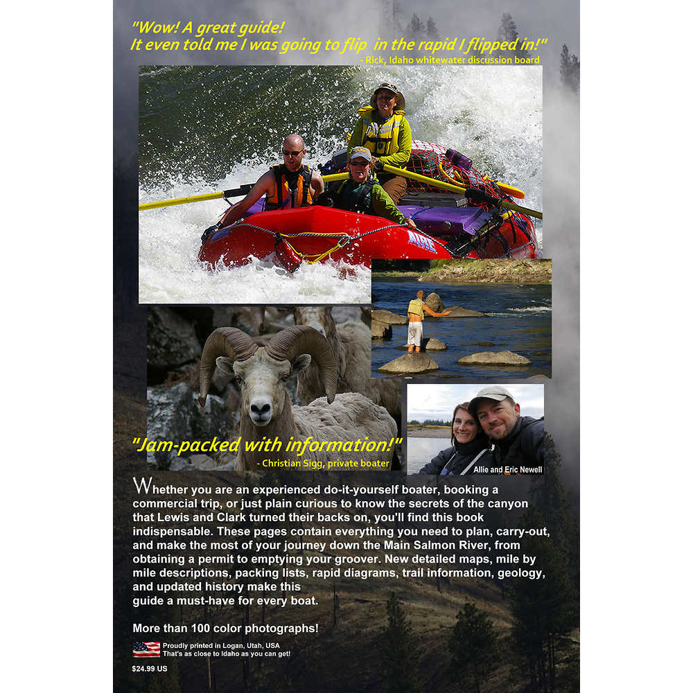 NRS Idaho's Salmon River Guide Book 2nd Edition