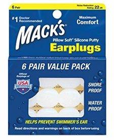 Mack's Ear Seals Ear Plugs