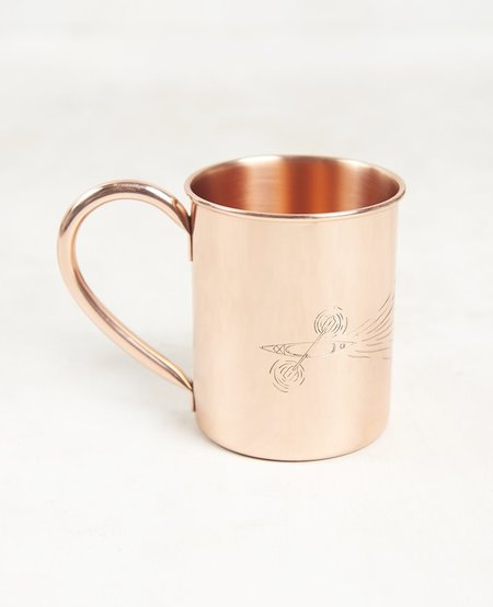 Paddle Out copper Mug