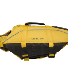Level Six Rover Floater Dog PFD - Yellow - Large