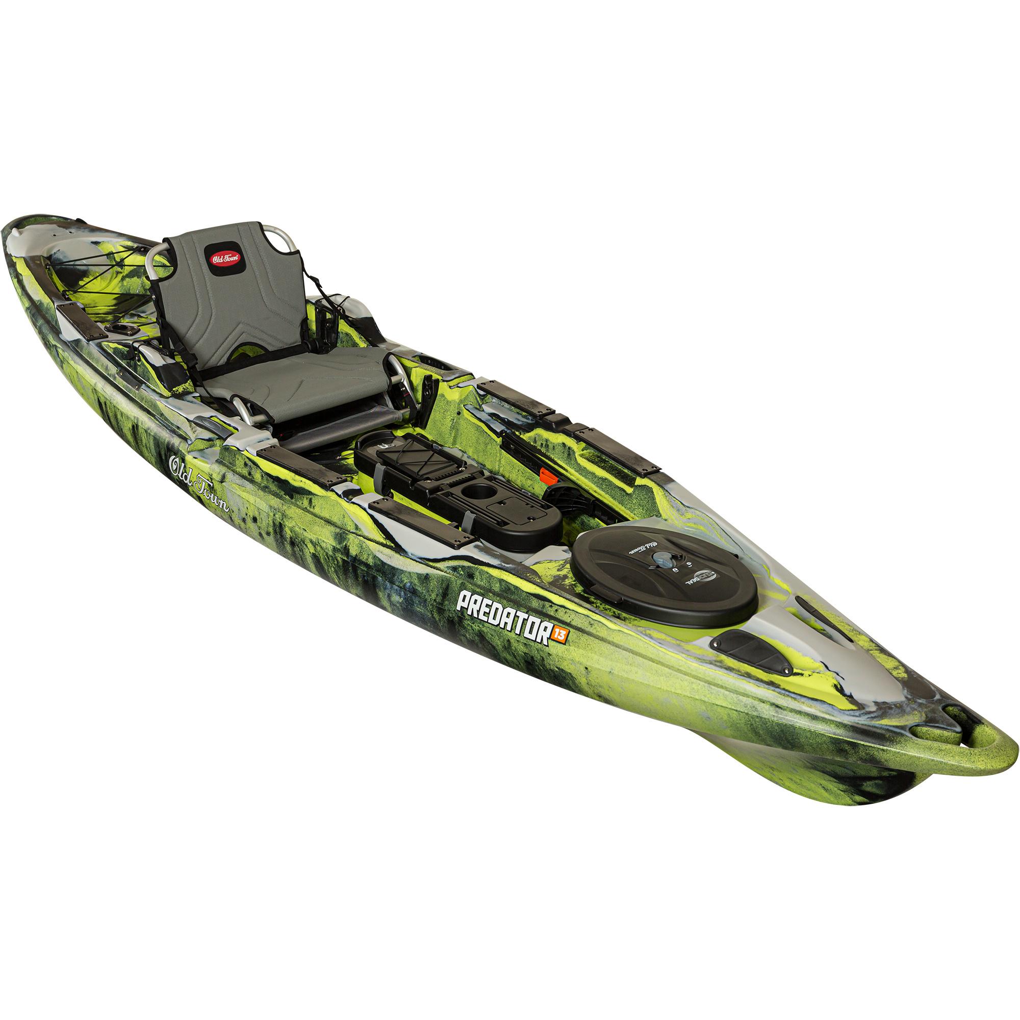 Old Town Kayaks Predator 13 Angler Kayak First Light