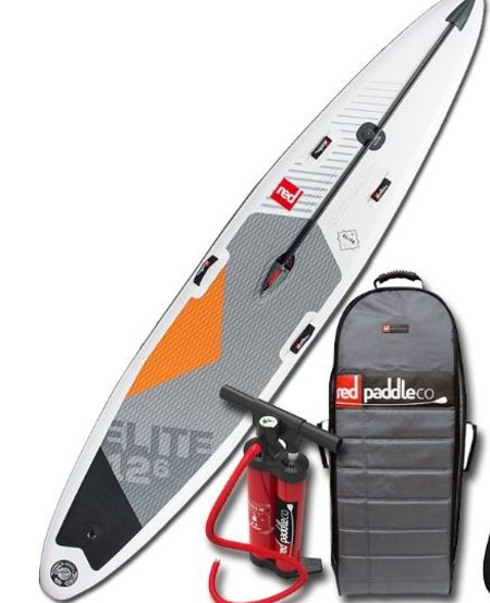 "RED Paddle Co - 12'6"" x 26"" Elite Racing iSUP"