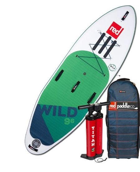 "RED Paddle Co - 9'6"" Wild MSL Whitewater iSUP"