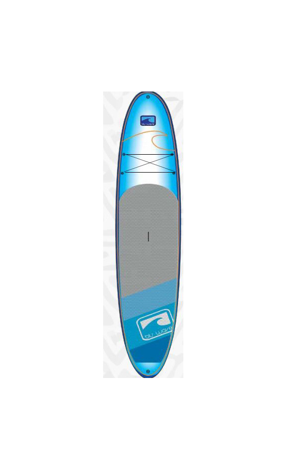 Blu Wave SUP Blu Wave - The Wave Rider 10.6 SUP