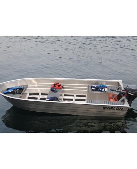 "SWV14L - Marlon 14' Aluminum Boat - 22"" Transom"