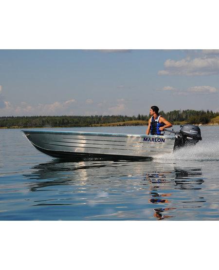 "SWV14S - Marlon 14' Aluminum Boat 15"" Transom"