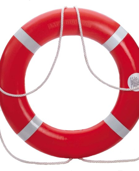 Dock Edge Life Ring  Buoy - Orange