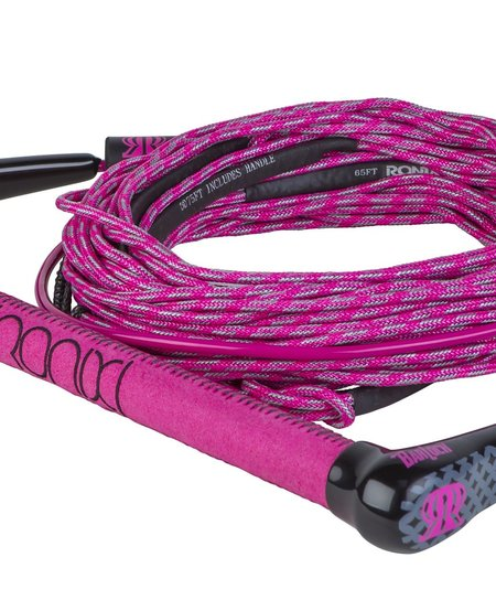 Ronix Women's Combo - Dyneem/Hide Grip, 4 Sec Solin Rope