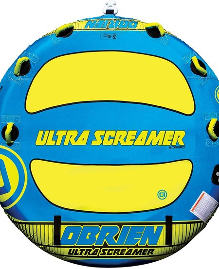 "O'Brien Ultra Screamer 80"" Tube Blue/Yellow"