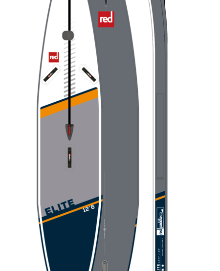 """RED Paddle Co - 12'6"""" x 28"""" Elite Racing iSUP Board"""