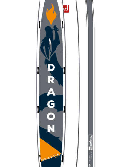 """RED Paddle Co - 22'0"""" Dragon iSUP"""