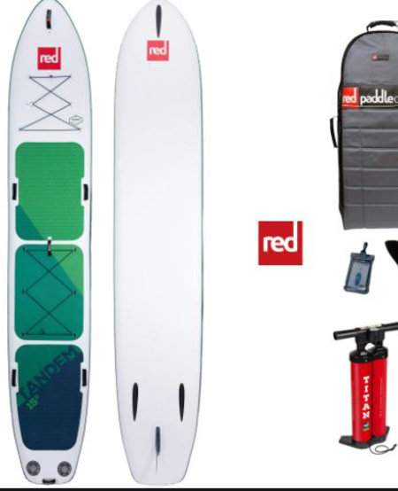 RED Paddle Co - 15'0″ Voyager Tandem iSUP - 2020