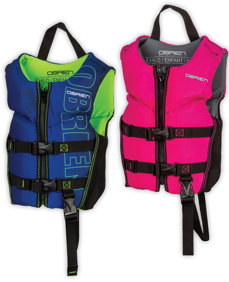 O'Brien HMZ Vest - Child V-Back Neo