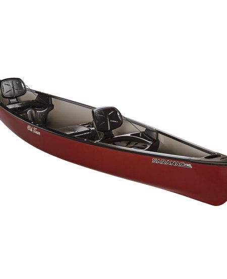 Saranac 146 Canoe - Red
